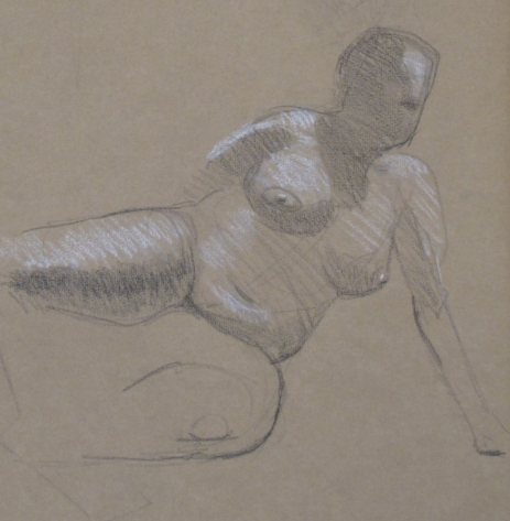 Leaning Nude