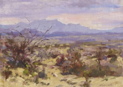 The Chisos from Terlingua