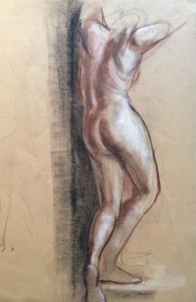 Female Nude Backview