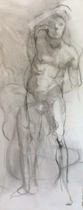 Standing Male Nude 1-18