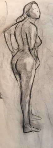 Standing Female Nude 1-18